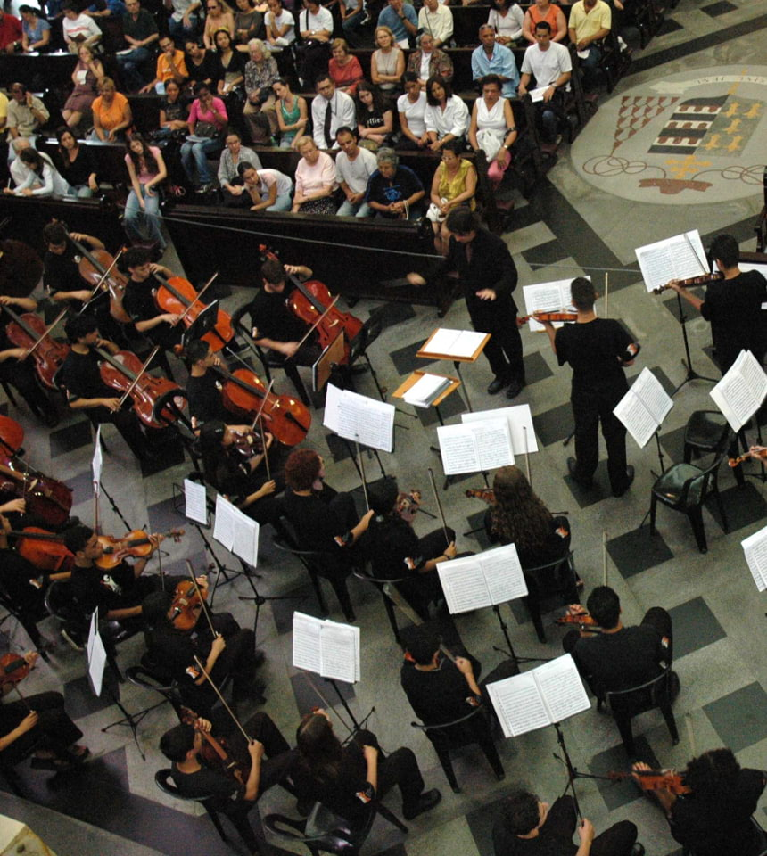 Orquestra na Catedral da Sé